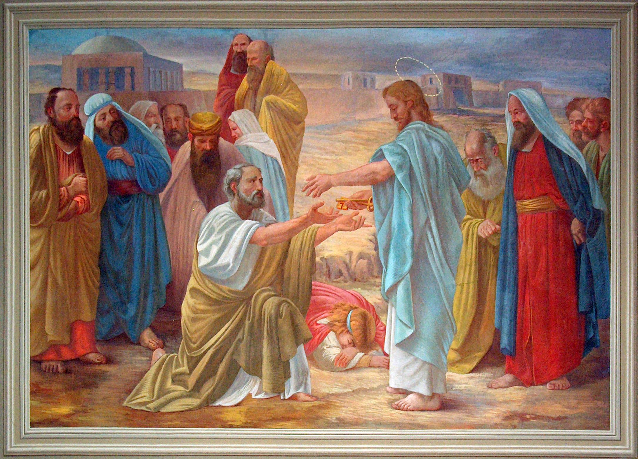 Consegna delle chiavi a Pietro 2