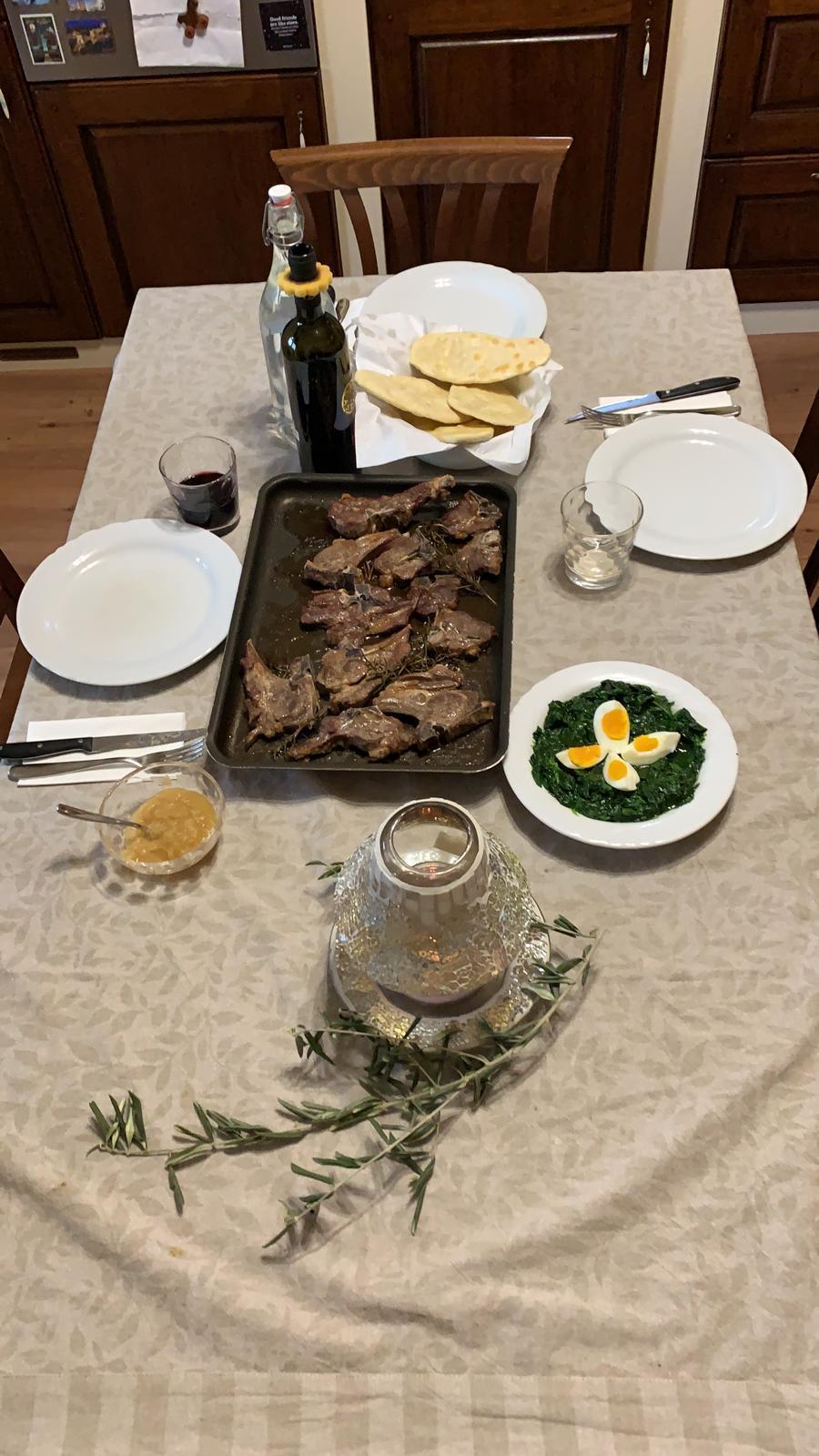 Cena pasquale ebraica 2020 (1)
