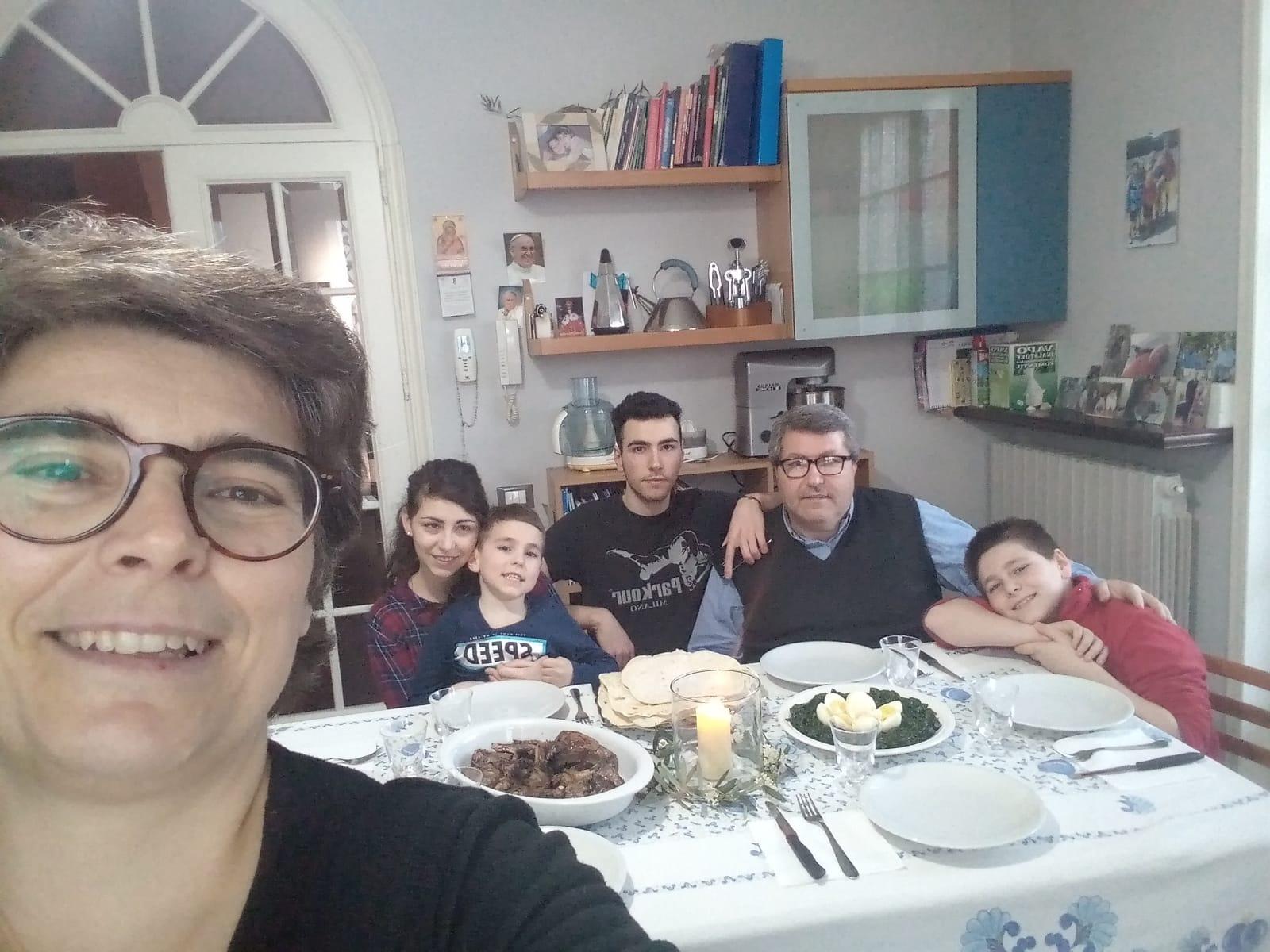 Cena pasquale ebraica 2020 (2)