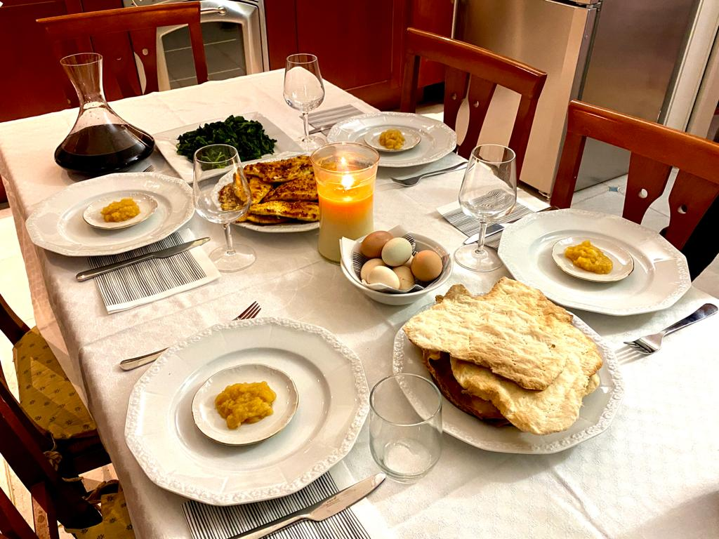 Cena pasquale ebraica 2020 (5)