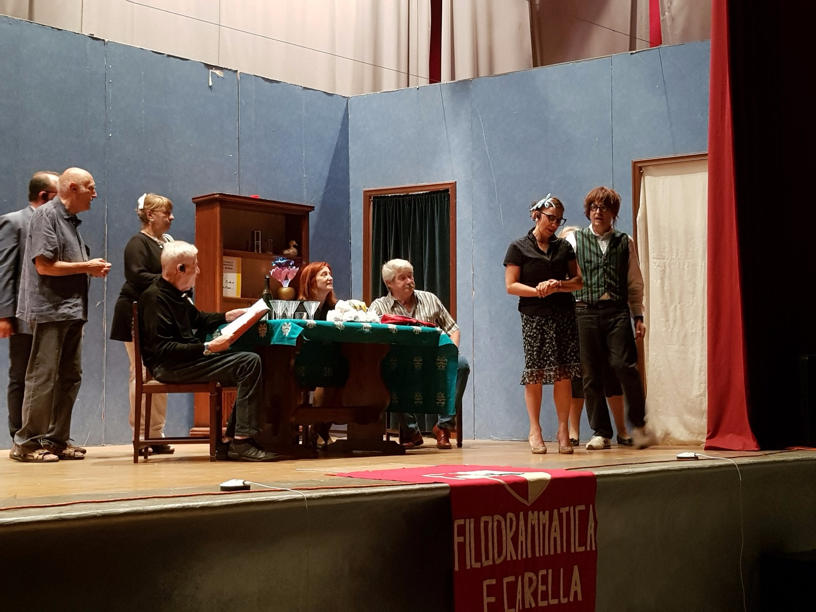 Commedia Carella, festa S Pietro (28)