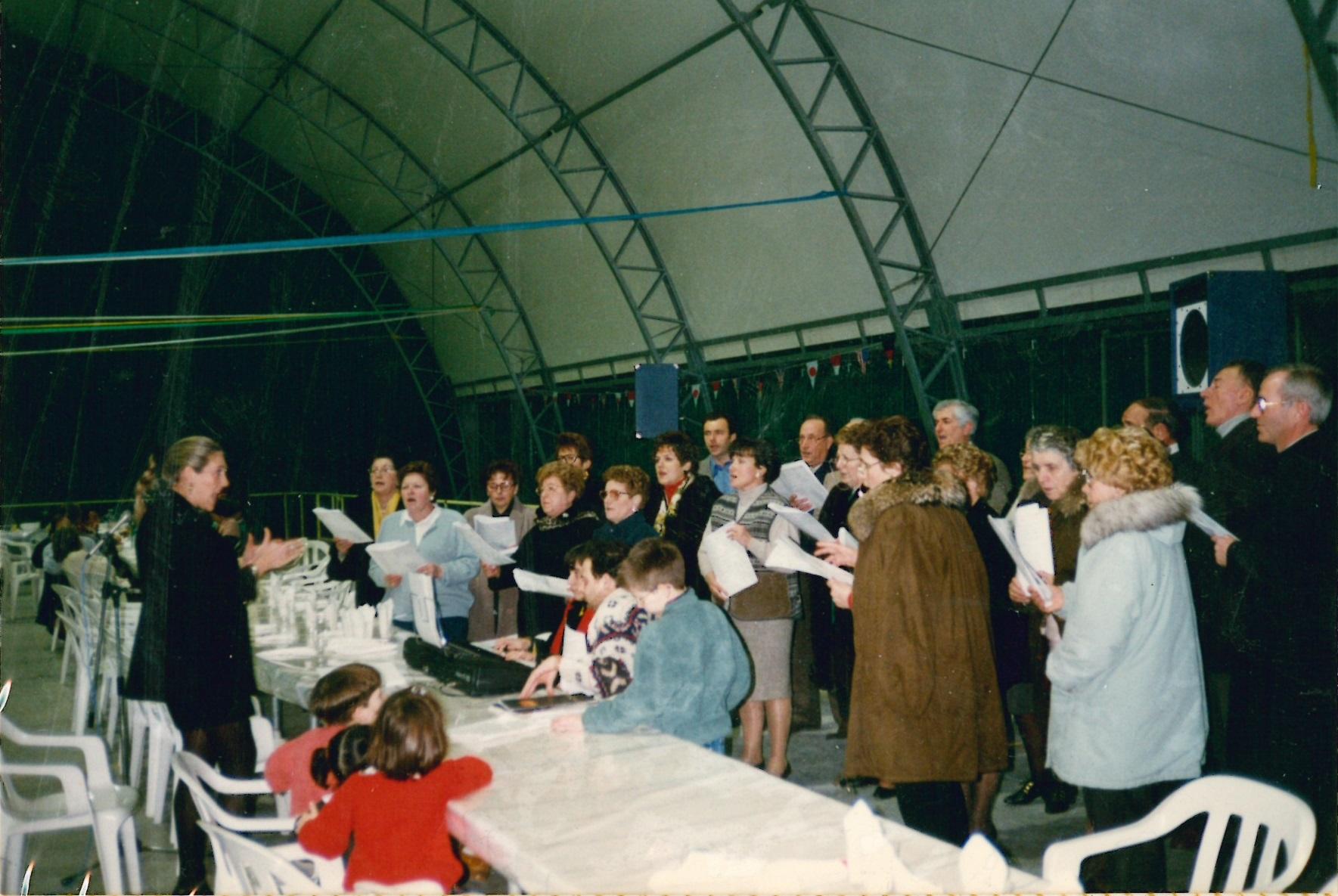 Recupero bambini di strada 9 Gennaio 1996