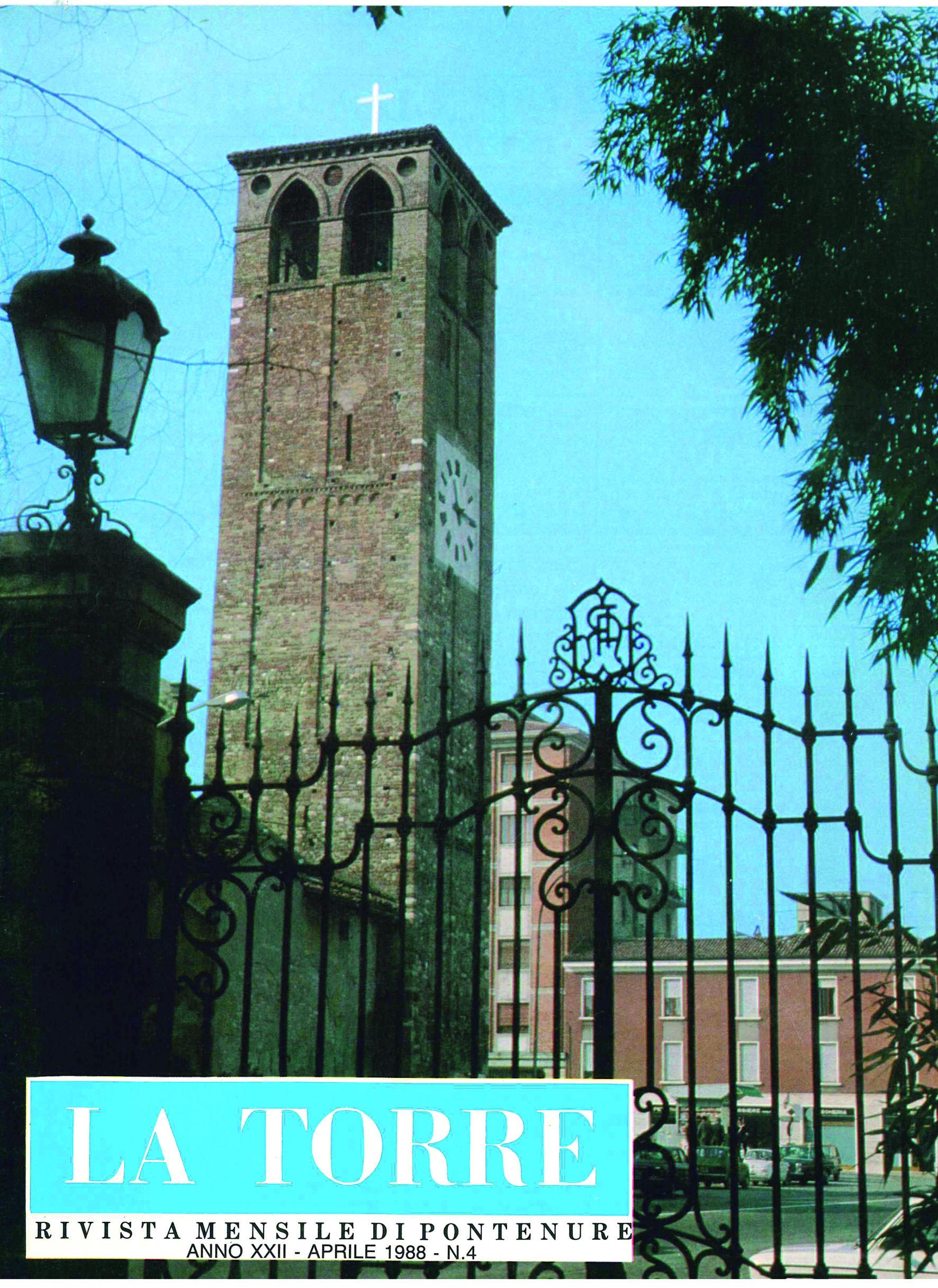 copertina la torre 1988