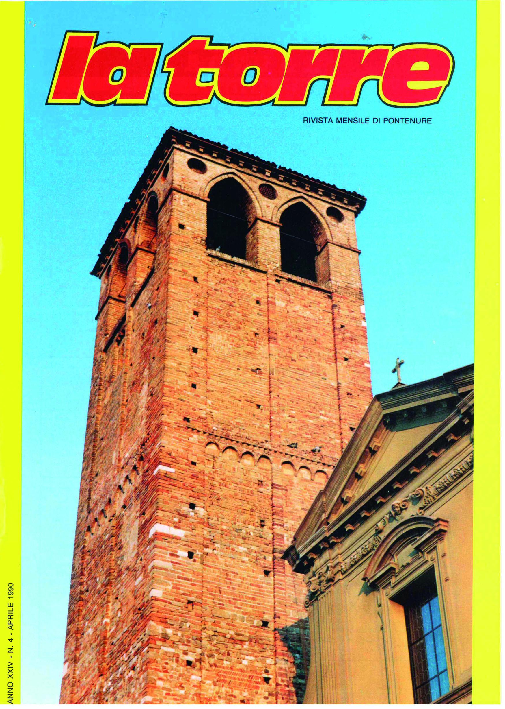 copertina la torre 1990