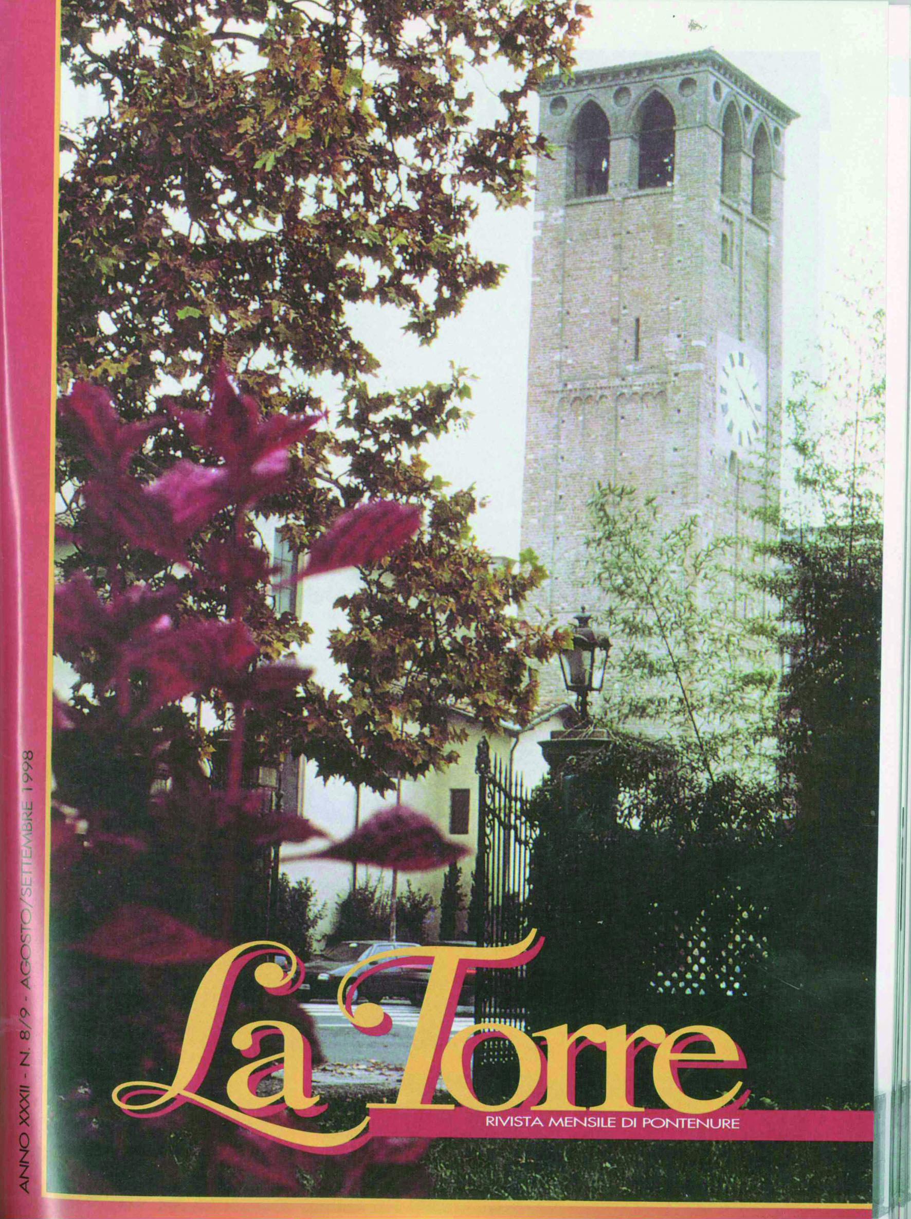 copertina la torre 1998