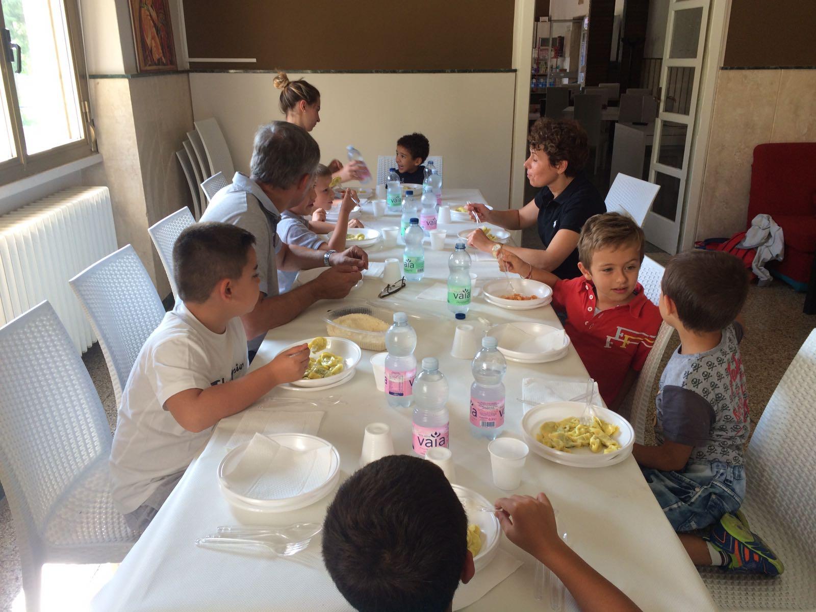 A pranzo con un ospite d'eccezione!