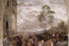 Andrea del Sarto (1486 - 1530), Biaggio dei magi, chiostro dei Voti, basilica della Santissima Annunziata di Firenze.