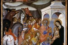 Bartolo di Fredi (1330 circa – 1410), Adorazione dei Magi, Pinacoteca Nazionale, Siena.