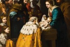 Bartolomé Esteban Murillo(1618 - 1682), Adorazione dei Magi, Museum of Art, Toledo (Ohio).