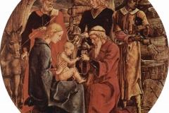 Cosimo Tura (1433 circa - 1495), Adorazione dei magi, Fogg Art Museum, Cambridge.