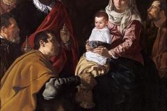 Diego Velázquez (1599 - 1660), Adorazione dei Magi, Museo del Prado, Madrid.