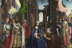 Jan Gossaert, Adorazione dei Magi, National Gallery, Londra.