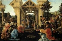 Sandro Botticelli(1445 -1510), Adorazione dei Magi, National Gallery, Washington.