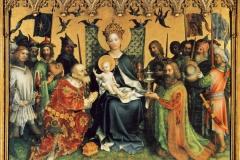 Stephen Lochner, (1400-1410 - 1451), Altare dei Santi patronio di Colonia, Cattedrale di Colonia.