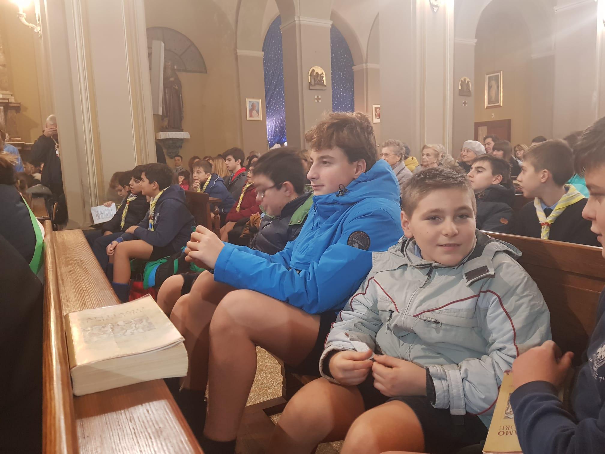 Luce di Betlemme 2019 santa messa (49)
