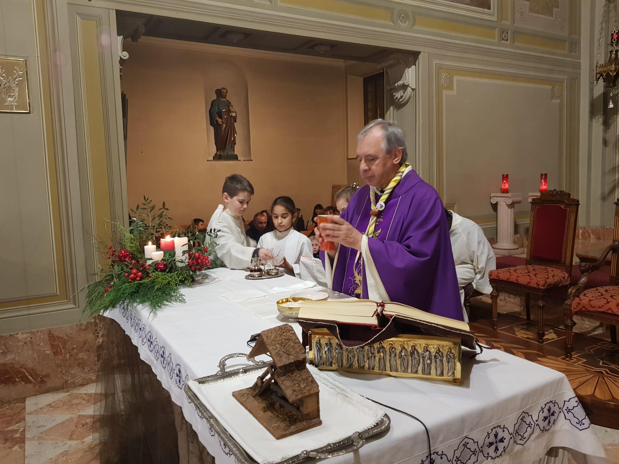 Luce di Betlemme 2019 santa messa (75)