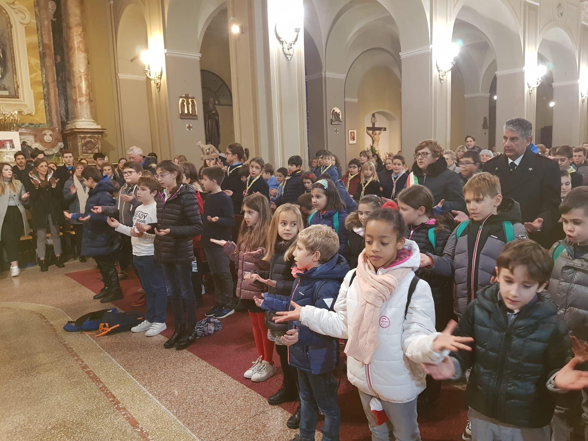 Luce di Betlemme 2019 santa messa (90)