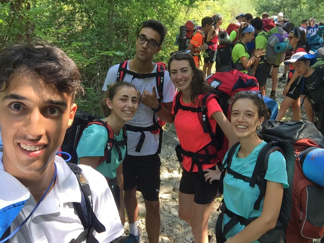 Pellegrinaggio Roma 2018 cammino (1)