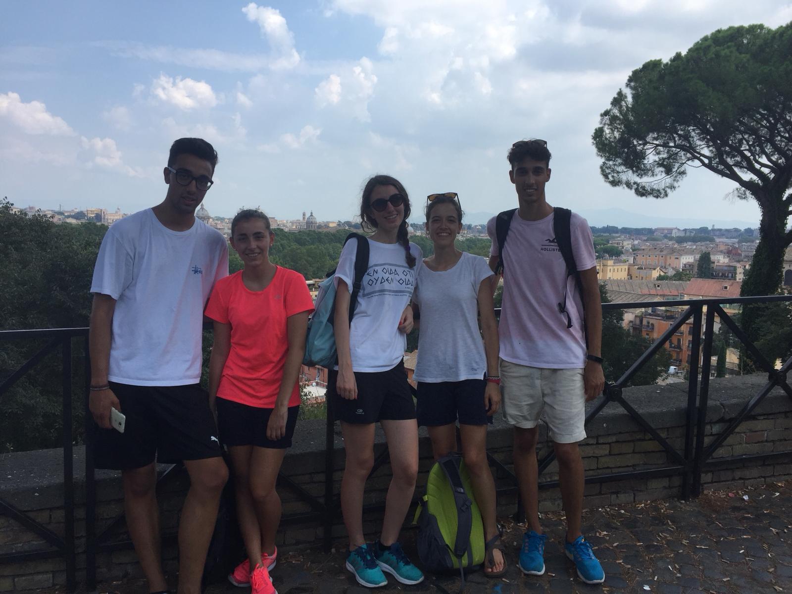 Pellegrinaggio Roma 2018 incontro (1)