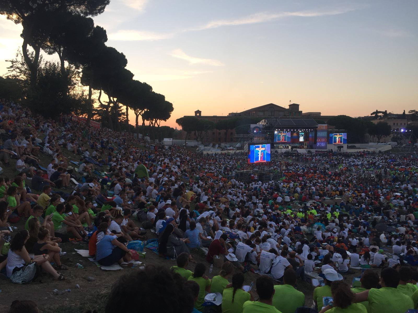 Pellegrinaggio Roma 2018 incontro (16)