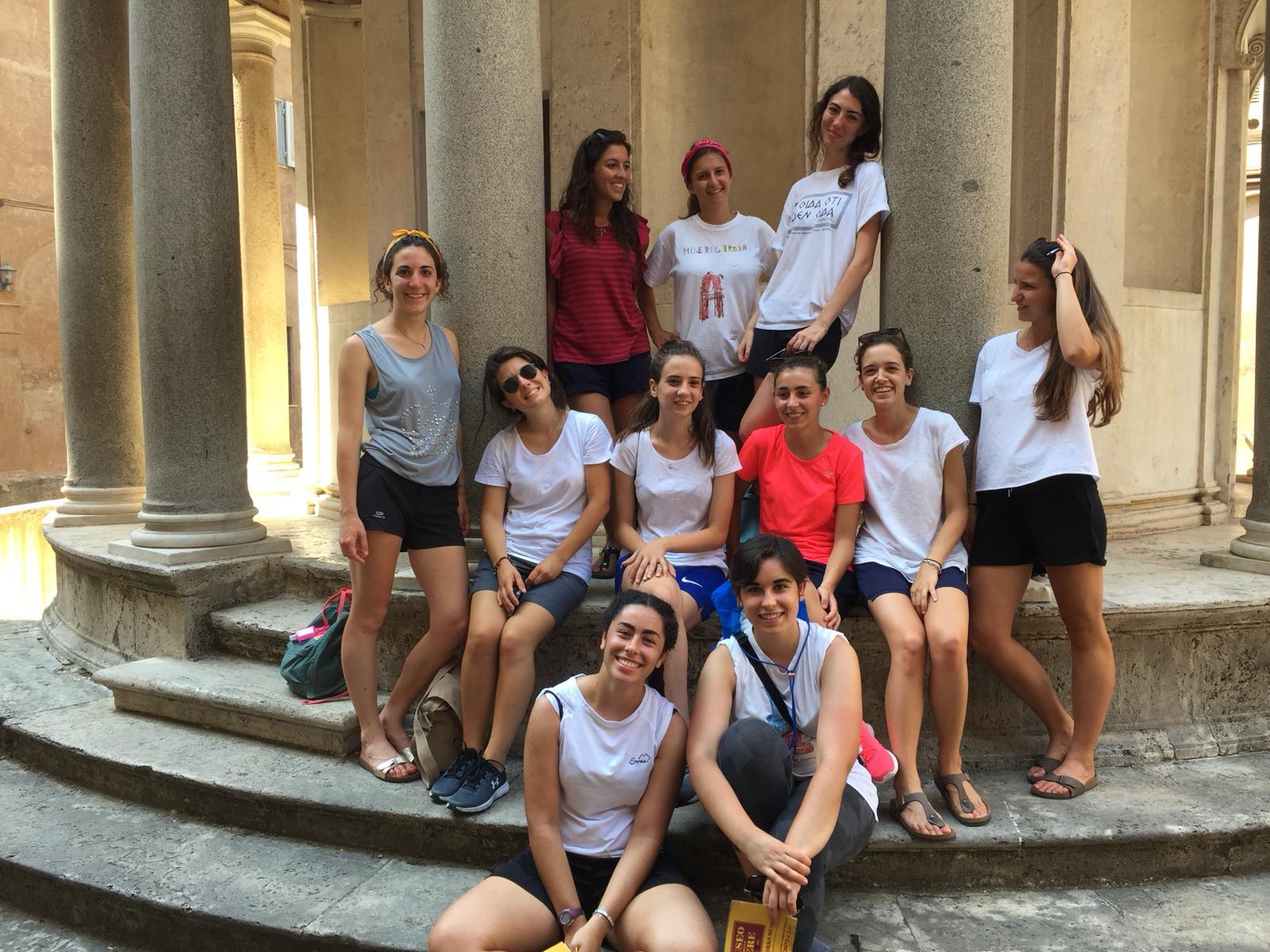 Pellegrinaggio Roma 2018 incontro (2)