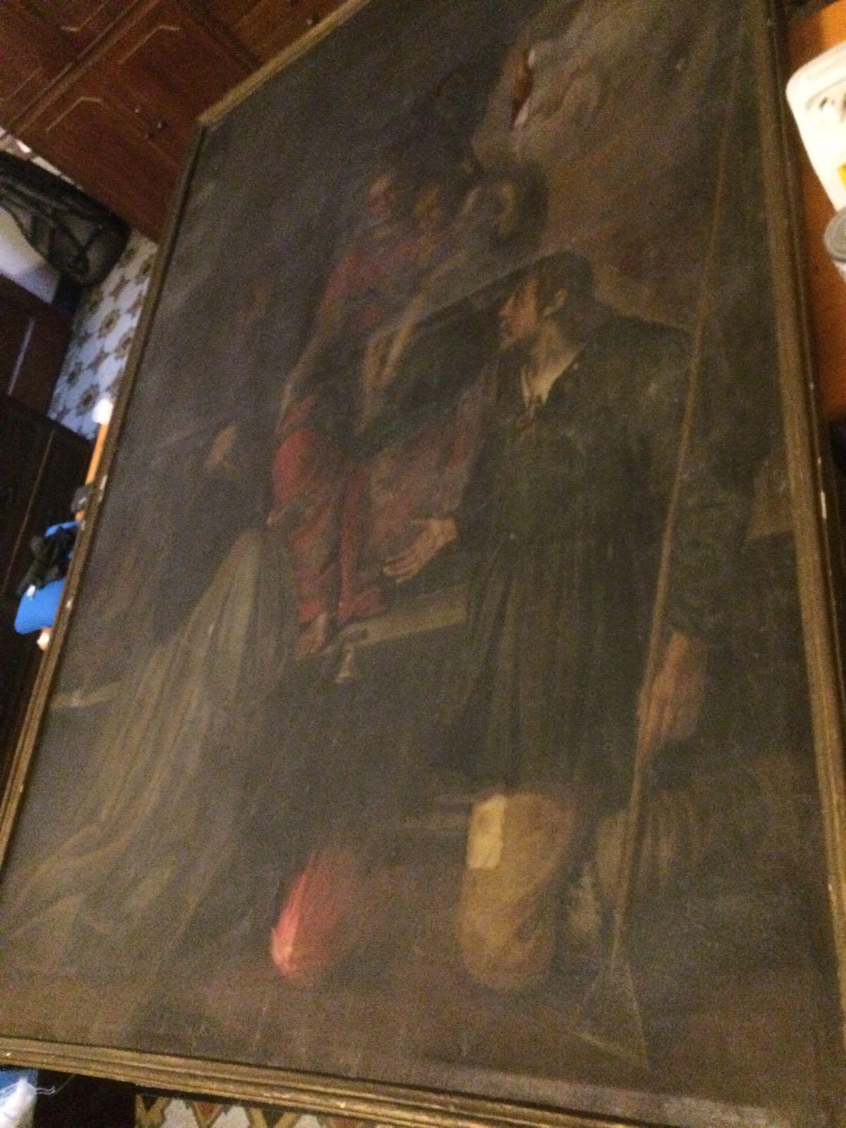 Dipinto Madonna con santi (4)