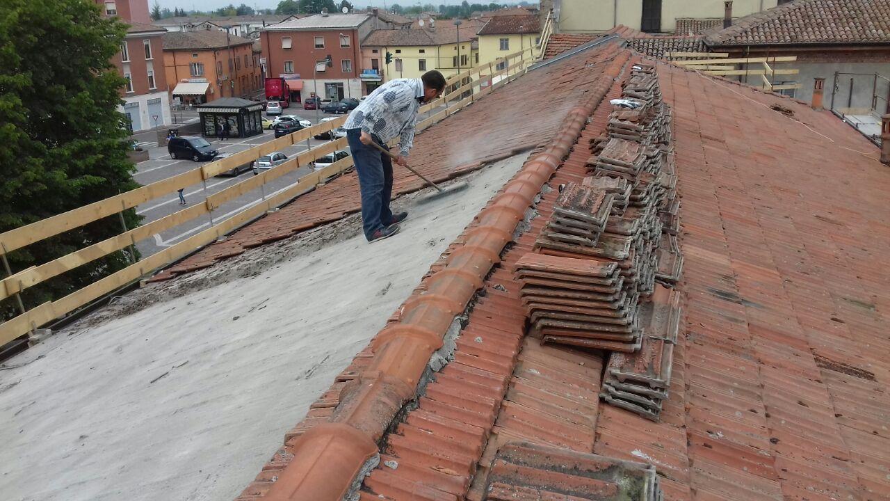 conclusi i lavori di rifacimento della copertura del tetto