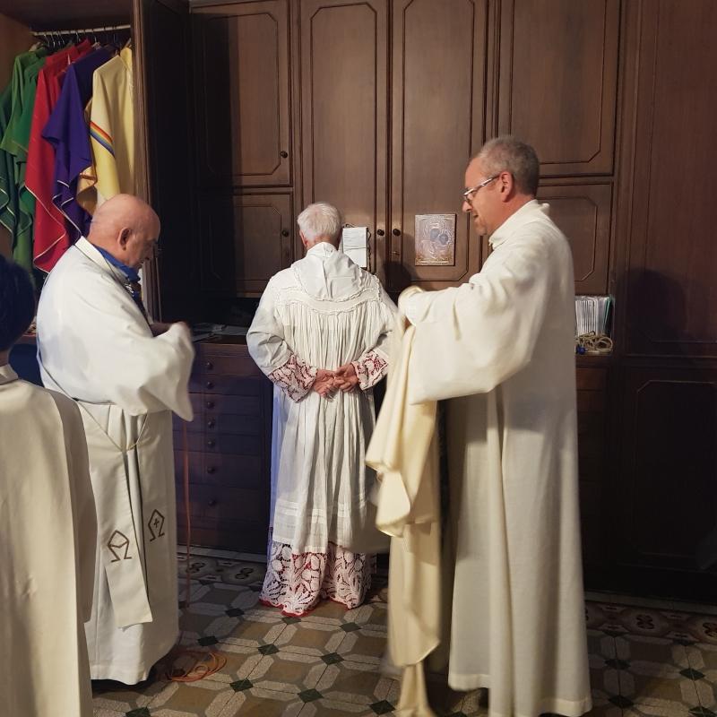 Arrivo a Pontenure e Visita Oratorio (17)