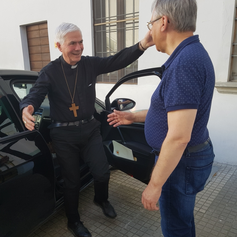 Arrivo a Pontenure e Visita Oratorio (2)