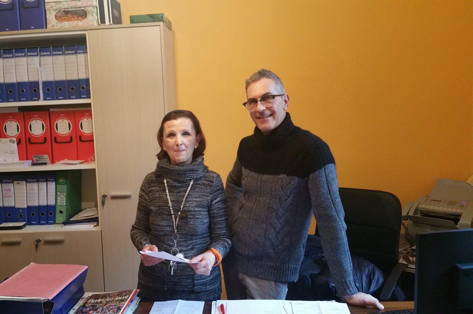 I nostri volontari Carla, Claudio e Graziella al posto di combattimento!