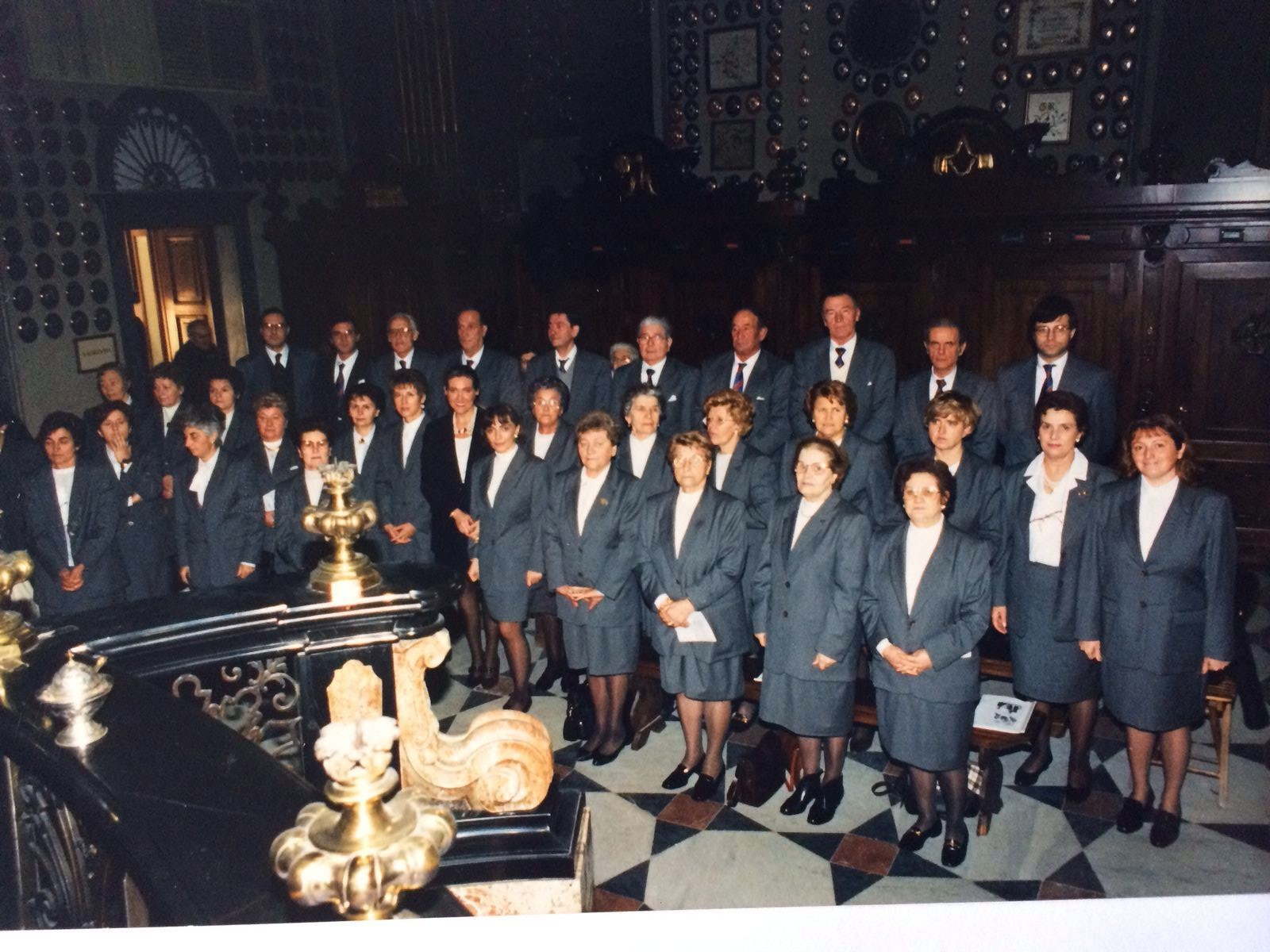 """Il Coro """"La Torre"""" si esibisce presso il Santuario della Madona di Caravaggio."""