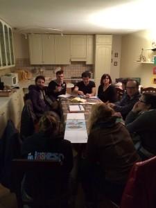 Tutti assieme riuniti per la riunione della Co.Ca.
