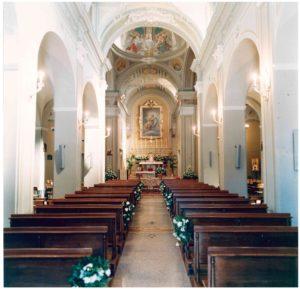 Una vista interna della nostra chiesa.